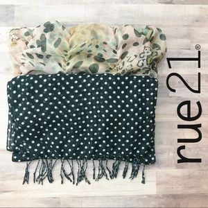 Rue21 Scarf Bundle